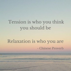 tension is who you think you should be