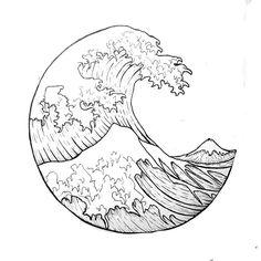 De grote golf van Kanagawa - Katsushika Hokusai